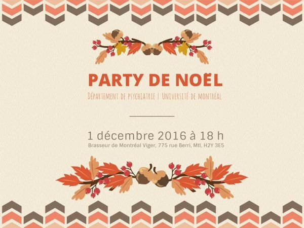 Invitation la rception de nol dpartement de psychiatrie et d party noel 2016 psy stopboris Gallery